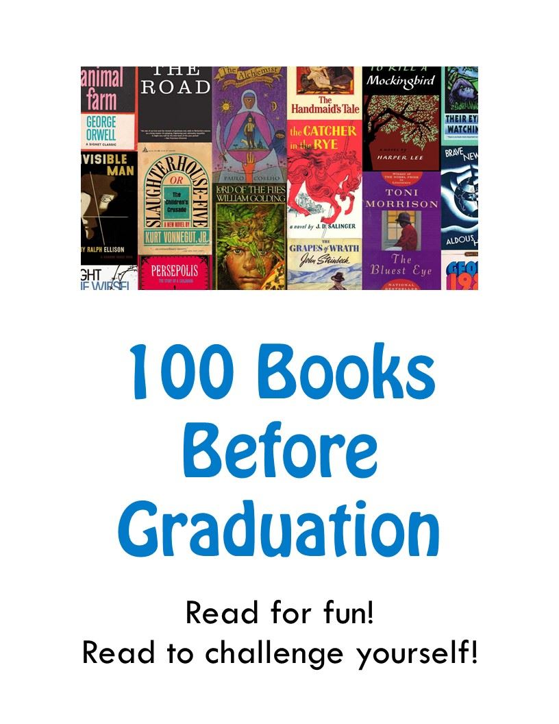 100 Books Before Graduation program