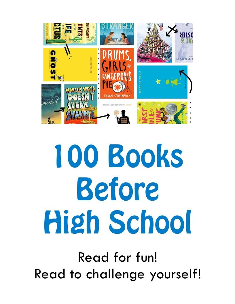 100 Books Before High School program